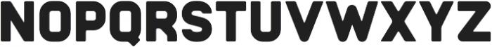 Badger Bold ttf (700) Font LOWERCASE