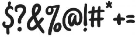 Badger Script otf (400) Font OTHER CHARS