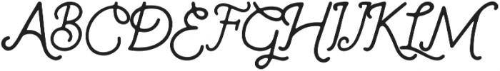 Badstar otf (400) Font UPPERCASE