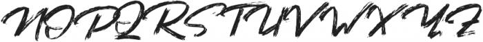 Bafora otf (400) Font UPPERCASE