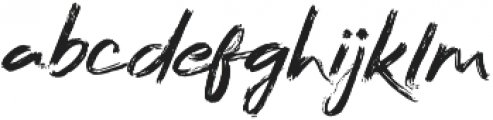 Bafora otf (400) Font LOWERCASE