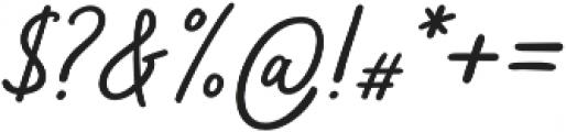 Bahagia otf (400) Font OTHER CHARS