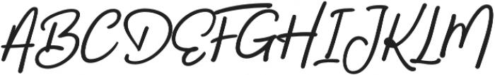 Bahagia otf (400) Font UPPERCASE