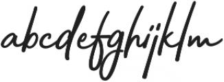 Bahagia otf (400) Font LOWERCASE