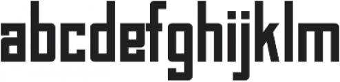 Bahn Pro Regular otf (400) Font LOWERCASE