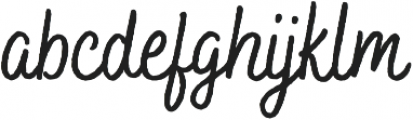 Bakerie Rough Condensed Medium otf (500) Font LOWERCASE