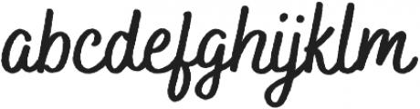 Bakerie Rough otf (700) Font LOWERCASE