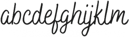 Bakerie Smooth Condensed otf (400) Font LOWERCASE