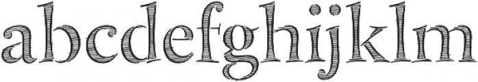 Bakersville Full otf (400) Font LOWERCASE