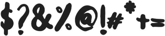 Balalak Bold Bold ttf (700) Font OTHER CHARS