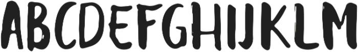 Balalak Regular ttf (400) Font UPPERCASE