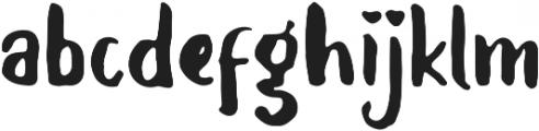 Balalak Regular ttf (400) Font LOWERCASE
