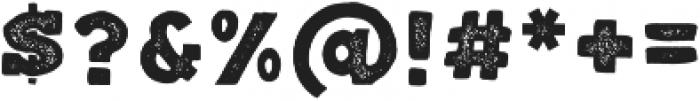 Balatype Grunge ttf (400) Font OTHER CHARS