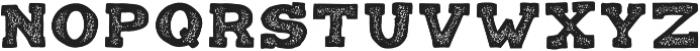 Balatype Grunge ttf (400) Font UPPERCASE