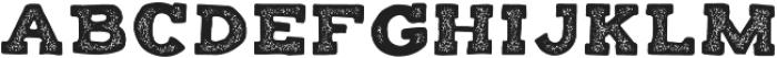 Balatype Grunge ttf (400) Font LOWERCASE