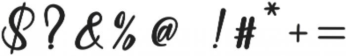 Baleria Script Regular ttf (400) Font OTHER CHARS