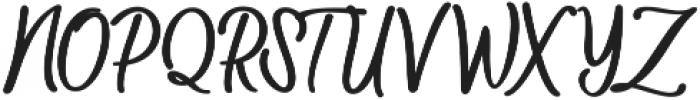 Baleria Script Regular ttf (400) Font UPPERCASE