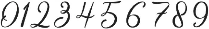 Balestya Medium otf (500) Font OTHER CHARS