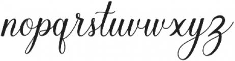 Balestya Medium otf (500) Font LOWERCASE