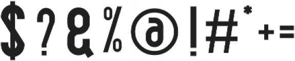 Balestya Sans otf (400) Font OTHER CHARS