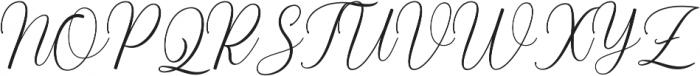 Balestya normal otf (400) Font UPPERCASE