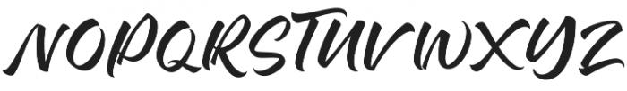 Baling Ink otf (400) Font UPPERCASE