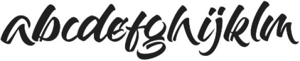 Baling Ink otf (400) Font LOWERCASE