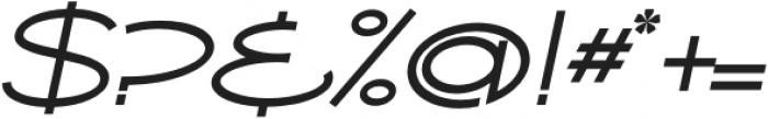 Ballado 2 Italic otf (400) Font OTHER CHARS