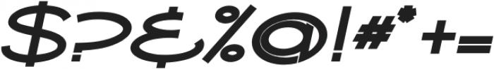 Ballado Bold 2 Bold Italic otf (700) Font OTHER CHARS