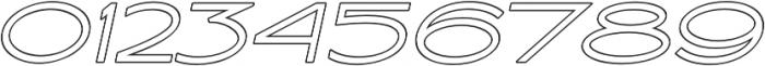 Ballado Outline 2 ttf (400) Font OTHER CHARS