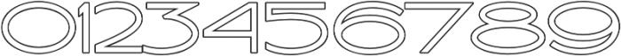 Ballado Outline ttf (400) Font OTHER CHARS