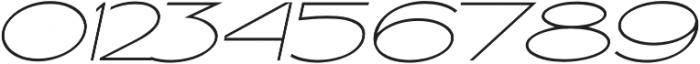Ballado Thin 2 otf (100) Font OTHER CHARS