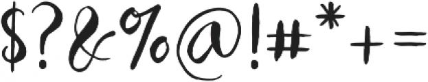 Ballarea Typeface otf (400) Font OTHER CHARS