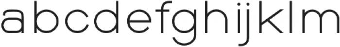 Balle Light otf (300) Font LOWERCASE