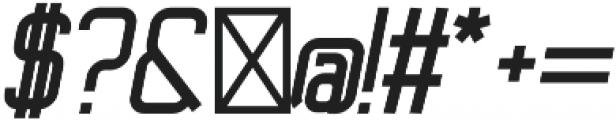 Ballege Black Oblique otf (900) Font OTHER CHARS