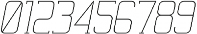 Ballege Light Oblique otf (300) Font OTHER CHARS