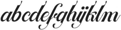 Ballegra Solid otf (400) Font LOWERCASE