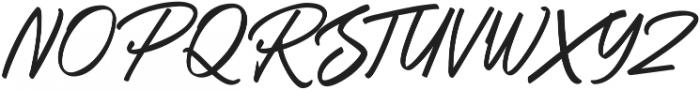 Ballies Regular ttf (400) Font UPPERCASE
