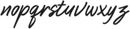 Ballies Regular ttf (400) Font LOWERCASE