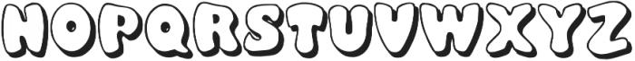 Balloony otf (400) Font UPPERCASE