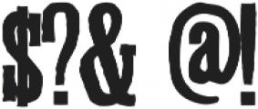 Ballymoss Medium ttf (500) Font OTHER CHARS
