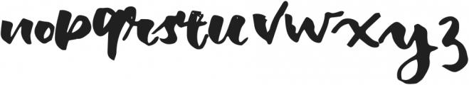 Balmonde Regular otf (400) Font LOWERCASE