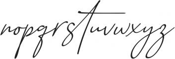 Baltimore Bold - Italic otf (700) Font LOWERCASE