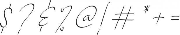 Baltimore Regular - Italic otf (400) Font OTHER CHARS