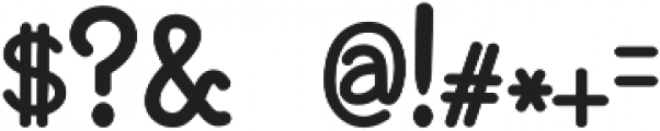 BaltimoreTypewriter otf (400) Font OTHER CHARS