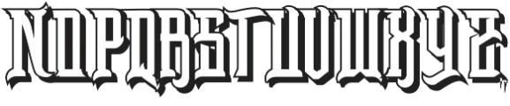 Baltsaros otf (400) Font UPPERCASE