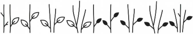 Bambi Flowerstick ttf (400) Font OTHER CHARS