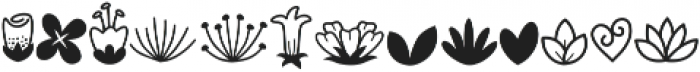Bambi Flowerstick ttf (400) Font UPPERCASE