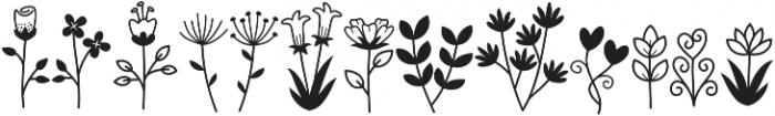 Bambi Flowerstick ttf (400) Font LOWERCASE