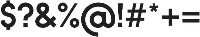 Bambino Bold otf (700) Font OTHER CHARS